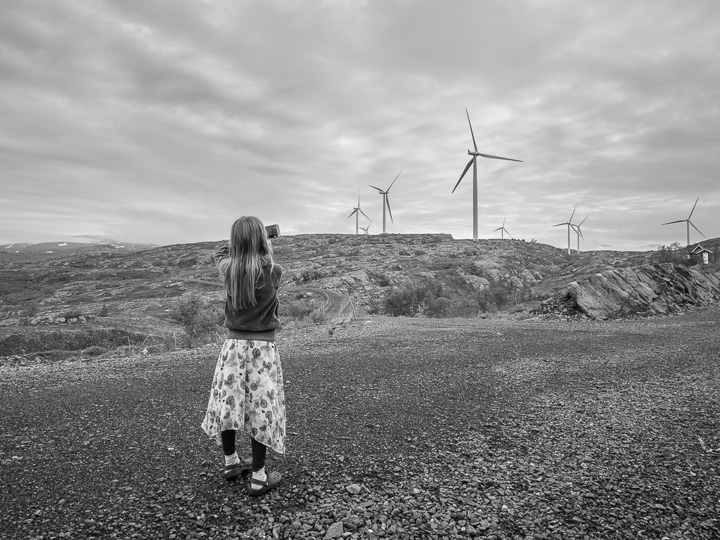 Vinner månedens bilde i mai. Foto: Veronika Sund. Tittel: Barnas fremtid